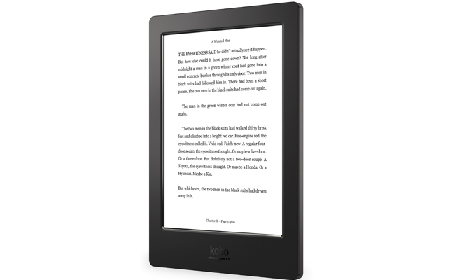 Kobo Aura H2O waves goodbye to water and sand fears.