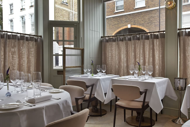 Marianne is one of the smallest fine dining restaurants in the UK