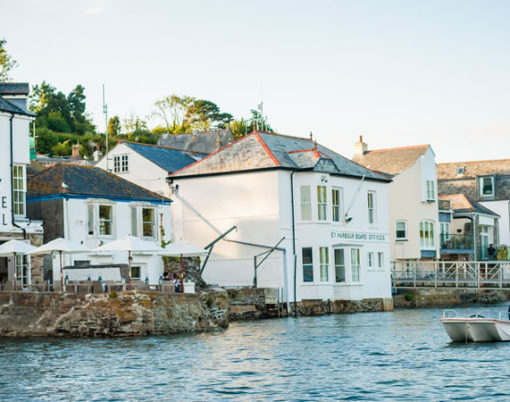 The Old Quay House is a boutique hotel in Fowey, Cornwall
