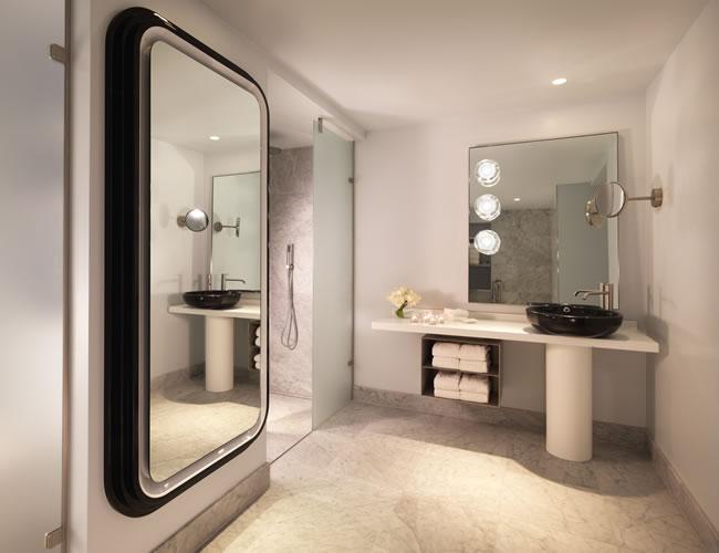 Bathroom at The Mondrian London, Southbank
