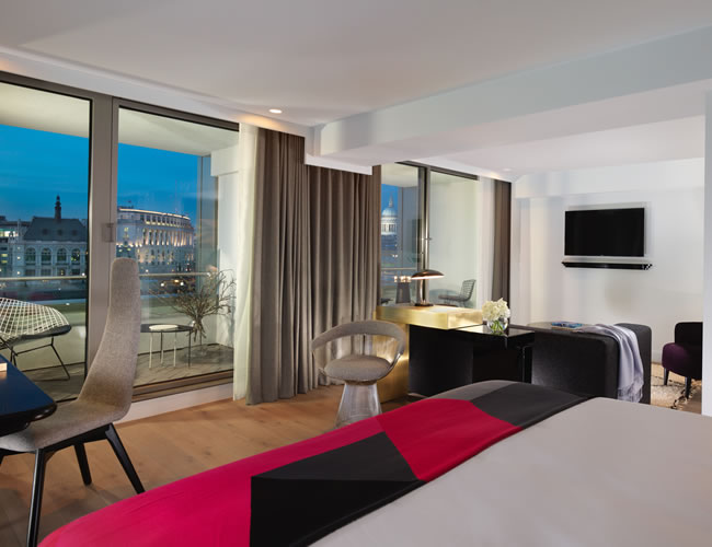 River View Balcony Suite at The Mondrian London