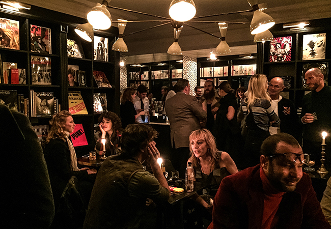 interesting characters fill the intimate soho club