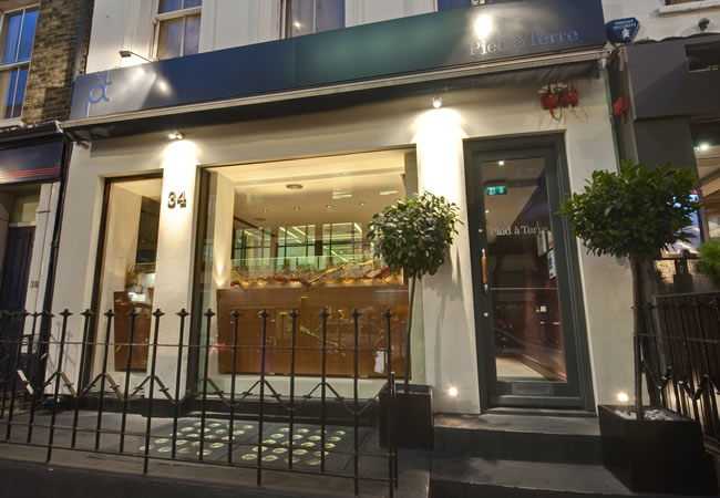 Pied a Terre, Charlotte St, London