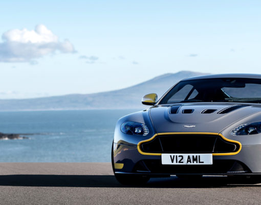Embrace your inner true racer with the new manual transmission V12 Vantage S for MY17.