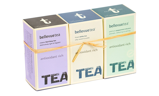 There's something for everyone in Bellevue's range of teas and infusions