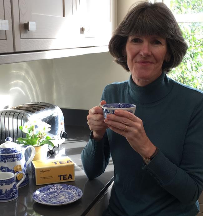 Clare Jones from Bellevue Tea