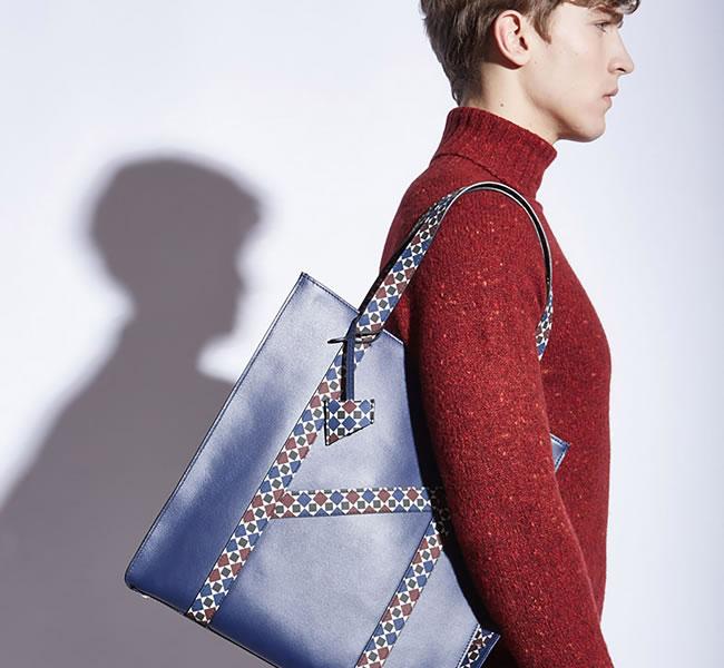 MARK/GIUSTI leather bag for men