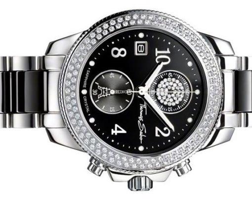 Thomas Sabo Glam & Soul Black Chronograph Watch