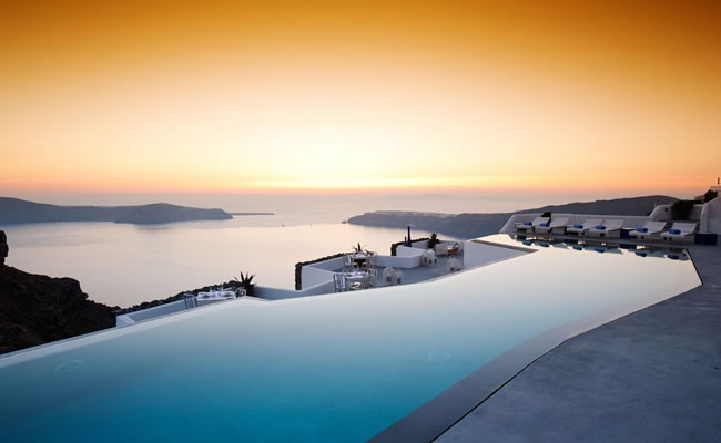Grace Santorini offers guests some of the best views in Grecce