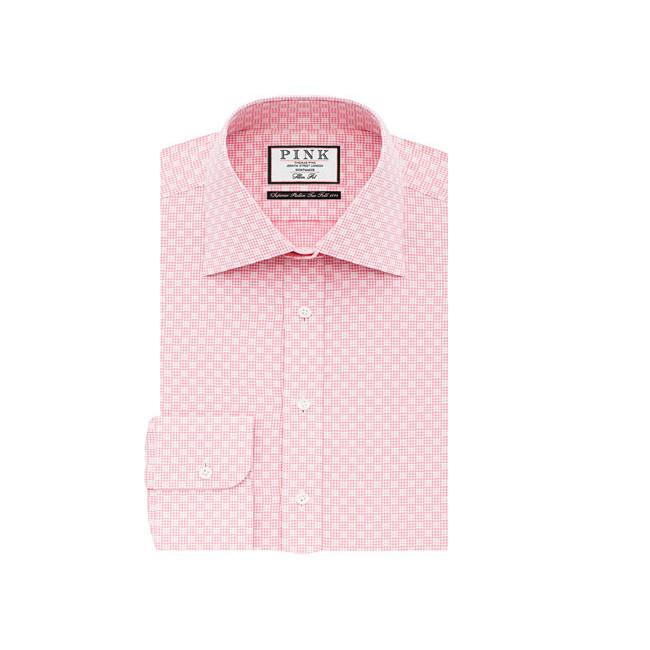 thomas pink shirt