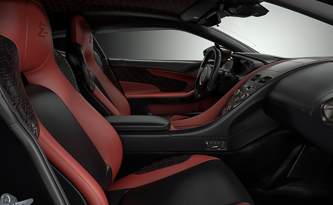 Italian infused design with British motoring strength combines for a beautiful Aston Martin model.