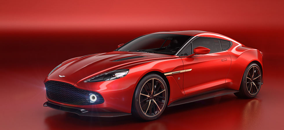 Say hello to the new Aston Martin Vanquish.