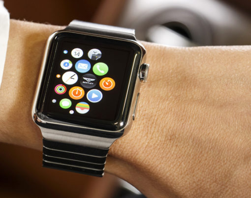 Luxury motoring can be controlled from the iWatch thanks to a new app.