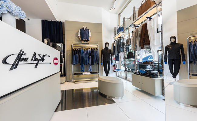 Motoring and Fashion combine for third time in Boutique for Bugatti.
