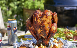 piri piri chicken on bbq