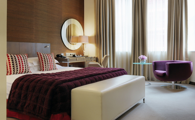 A variety of suites are available at The Marylebone, each boasting impressive space and design features.