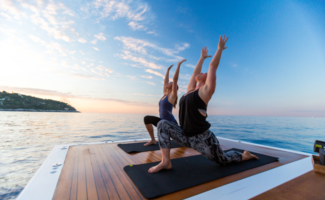 Yoga plus Yachts = The Superyacht Retreat.