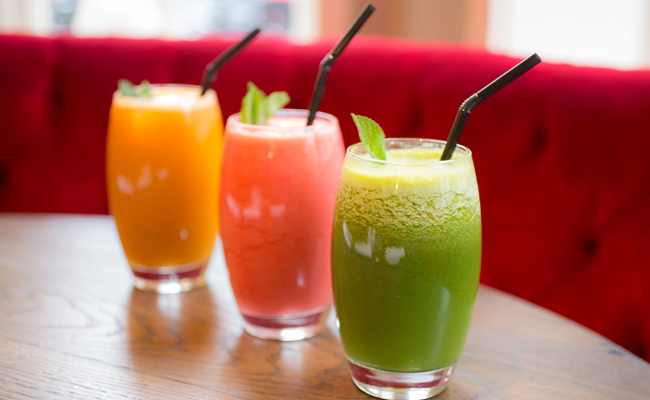 From Cucumber to Lime, the 108 Juicery boasts every vitamin choice you need to start your day.