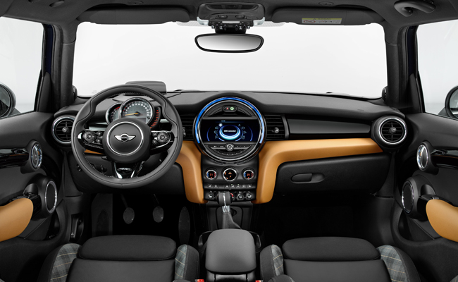 Exclusive design elements on the BMW MINI Seven make this model stand out from it's siblings.