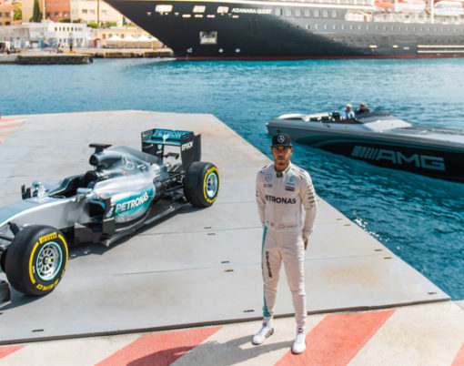 Monaco sees style meet performance in Monaco event.