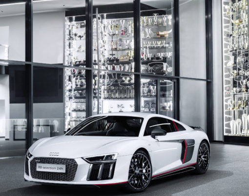 The loved Audi R8 gets a sportier makeover in Nurburgring home special edition.