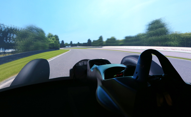 WEC inspired racing from the comfort of a simulator.