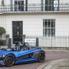 New Mexican supercar makes Battersea appearance.