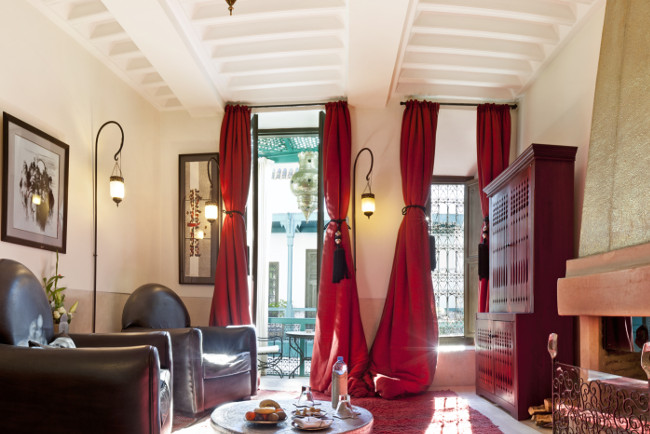 Riad Farnatchi is an elegant riad in the Medina of Marrakech, just 10 minutes' walk from Jemaâ El Fna Square