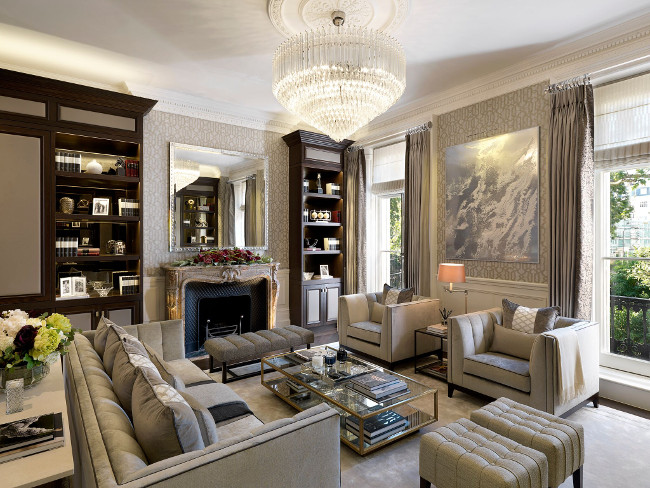 living room at chester square