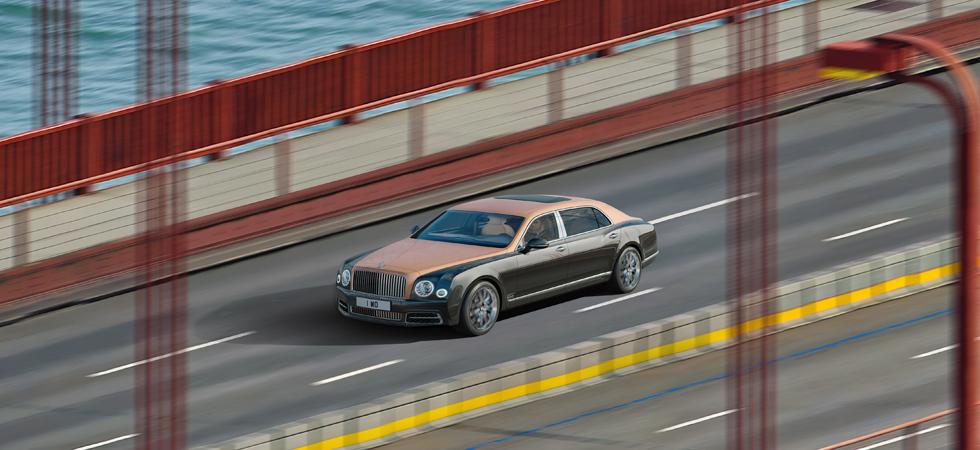 Detail is key in PR stunt by Bentley Motors.