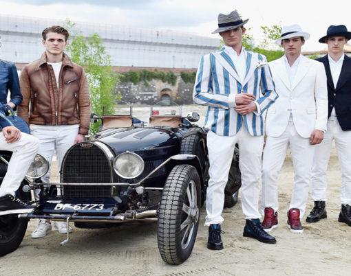 Ettore Bugatti unveil collaboration with LuisaViaRoma.