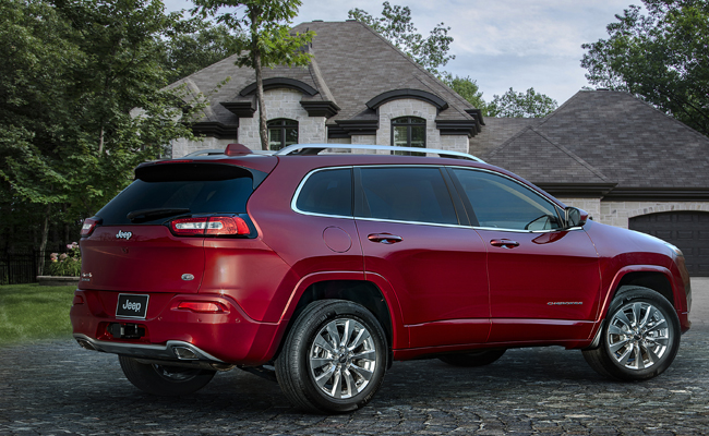 Jeep Cherokee gets a MY16 upgrade.