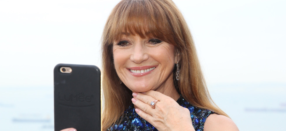 Jane Seymour flaunts 'The Jane Seymour'