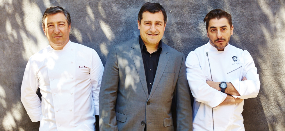 Jordi, Josep and Joan Roca, El Celler de Can Roca-004
