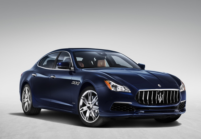 Maserati's flagship model gets a restyle for MY17.