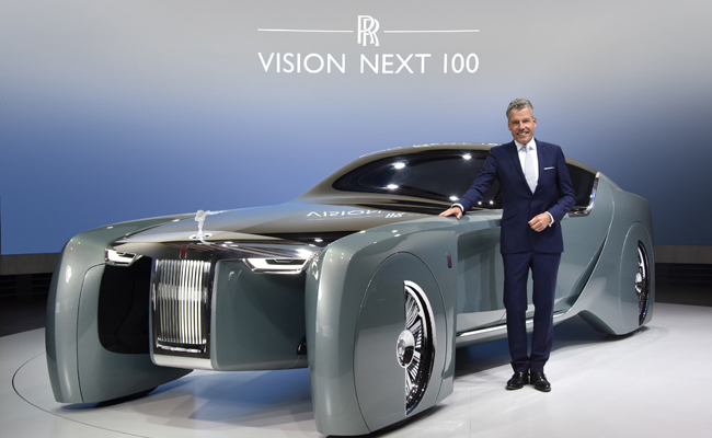 Vision NEXT unveiled a London Roundhouse.