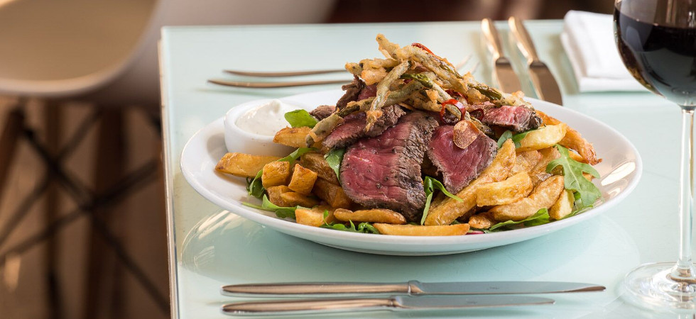 Rare Beef & Chip Salad