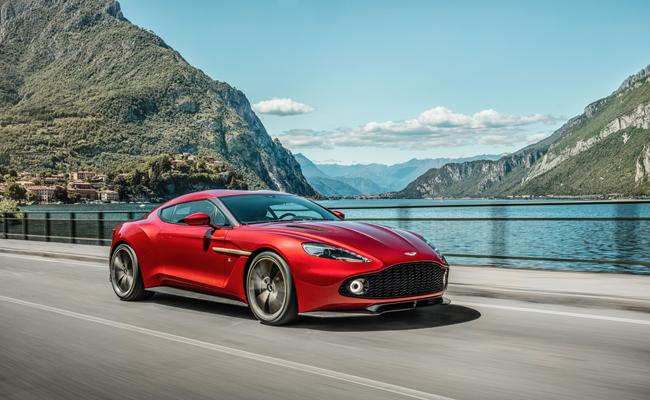 Introducing the Aston Martin Zagato Coupe.