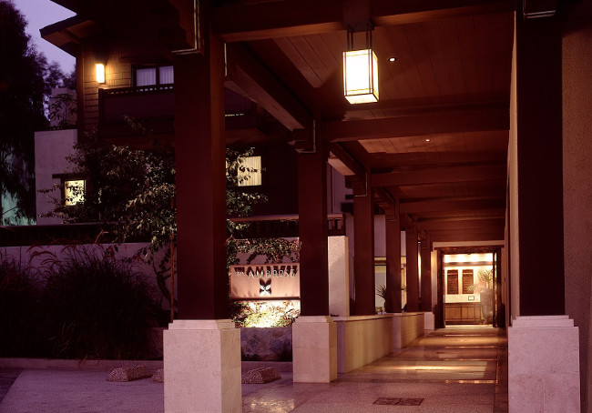 The Ambrose Hotel, Santa Monica in California, USA