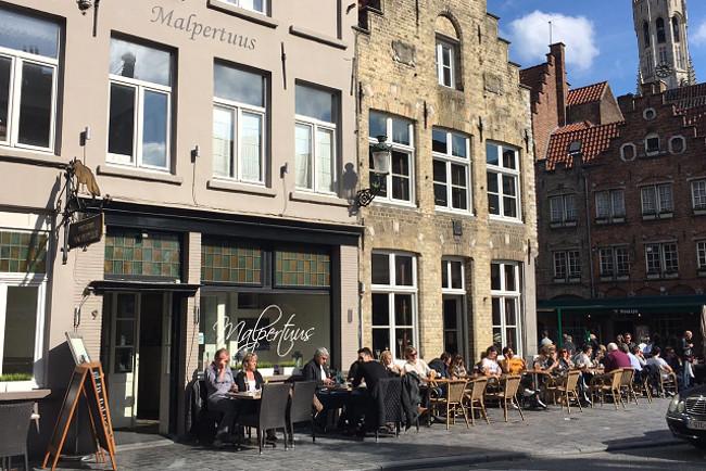 Bruges offers a huge plethora of food