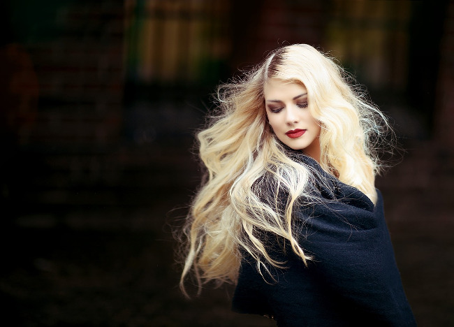 women with blonde hair