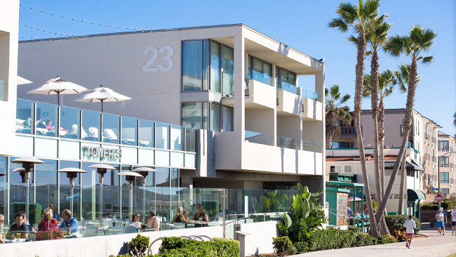 TOWER23 Hotel is San Diego's only luxury, lifestyle hotel on the beach.