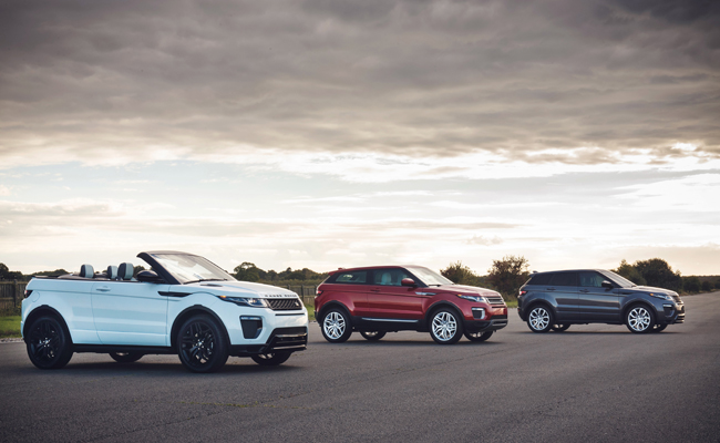 One of the most popular Range Rover models, the Evoque, is celebrating it's 5 year manufacture anniversary.