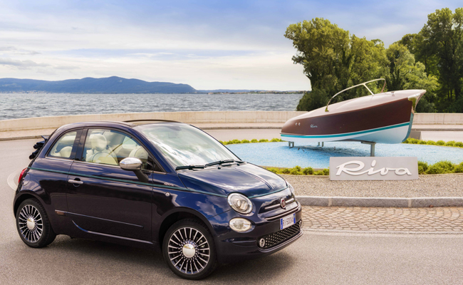 Italian design meets everyday accessibility in the Fiat 500 Riva.
