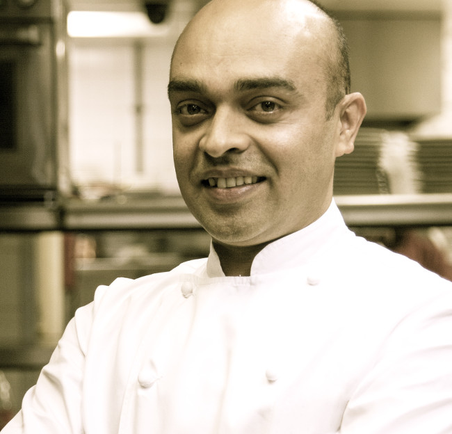 Alfred Prasad is credited with elevating the reputation of British Indian food with his delicate treatment of fresh, seasonal produce