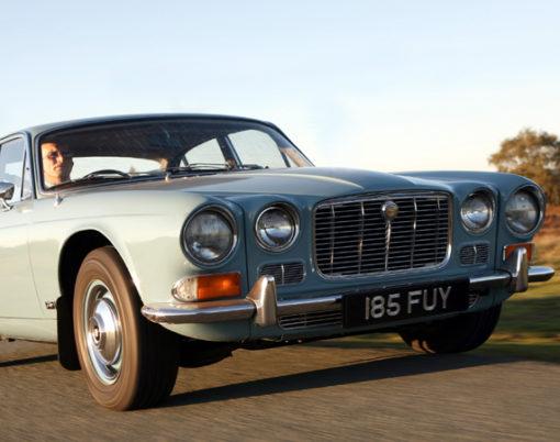 Jaguar XJ6, the secret investment.