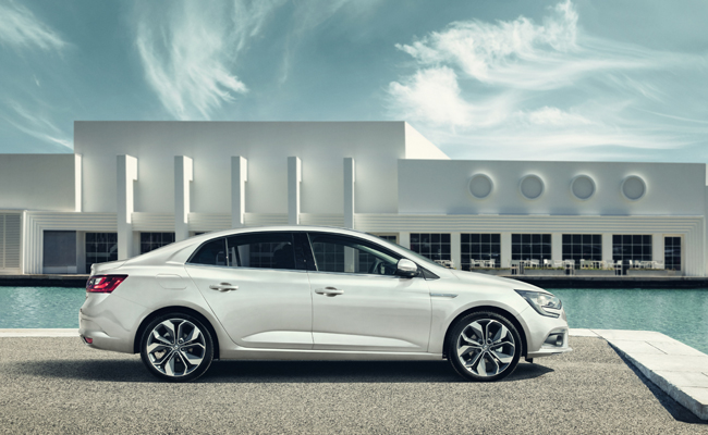 Renault Renaissance continues with the new design Megane.