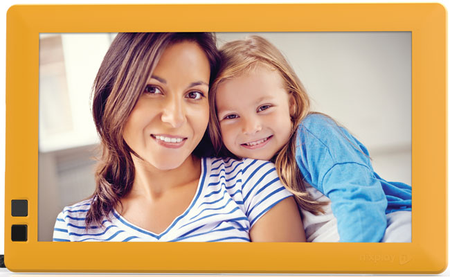 The Nixplay Seed frames optimise personalisation and technology in the home.