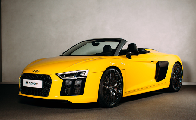 Stunning Audi R8 model now available in the UK.