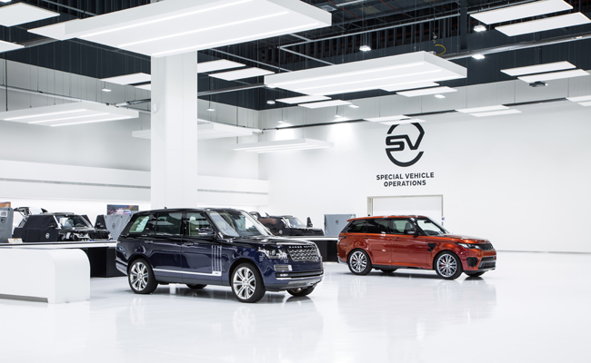 Jaguar Land Rover SVO get a new home in Coventry.